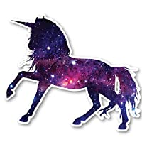 "Unicorn Sticker Galaxy Stickers - Laptop Stickers - 2.5"" Vinyl Decal - Laptop, Phone, Tablet Vinyl Decal Sticker S1240"