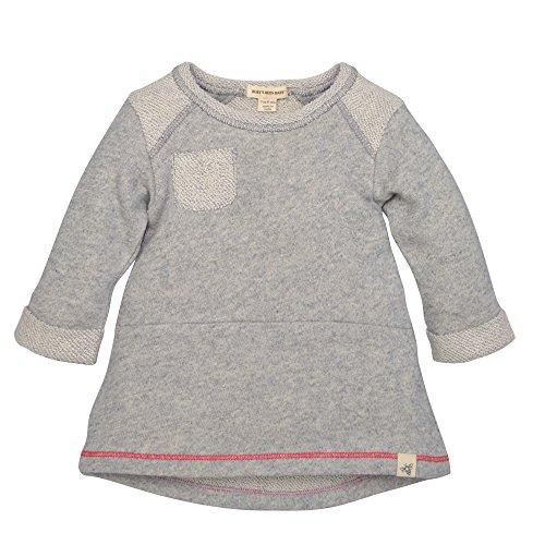 - Burt's Bees Baby Baby Girls' Organic Long Sleeve Dress, Heather Grey, 6-9 Months