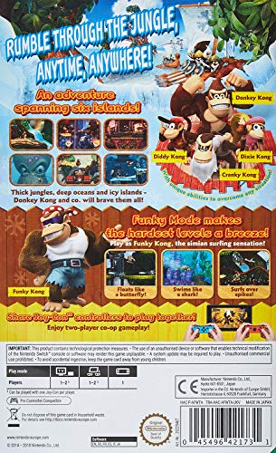 Donkey Kong Country: Tropical Freeze - Nintendo Switch 2