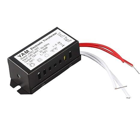 Varga Controlador LED del Transformador electrónico de la lámpara de halógeno de la CA 220V a