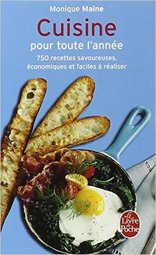 Cuisine Pour Toute L Annee Livre De Poche Cuisine French