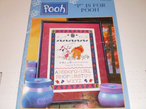 """P"" is for Pooh Cross Stitch"