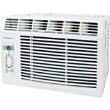 "Keystone 5,000 BTU 115V Window-Mounted Air Conditioner with ""Follow Me"" LCD Remote Control"