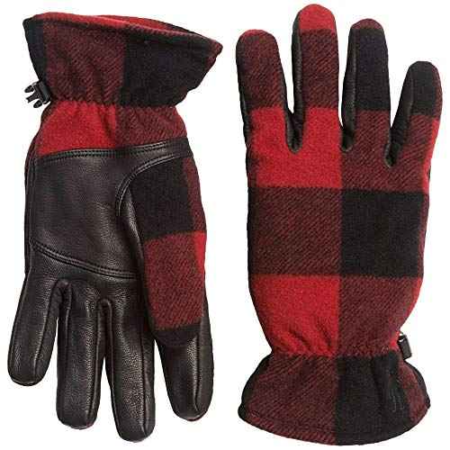 (スマートウール) SmartWool レディース 手袋?グローブ Stagecoach Gloves - Merino Wool, Leather Palm [並行輸入品]