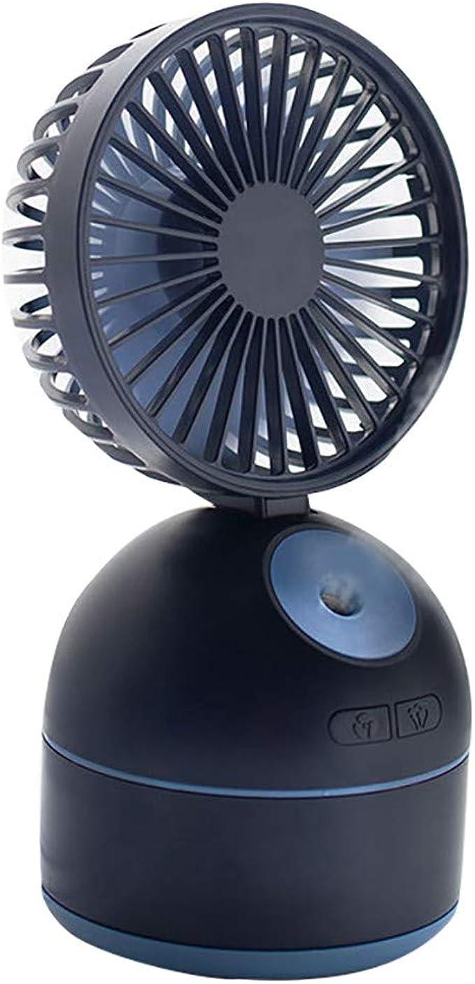 JiaMeng Pequeño Ventilador Eléctrico con Operación Ultra Silenciosa Aire Acondicionado portátil Fan Spray humidificación Ventilador y humidificador de Escritorio: Amazon.es: Ropa y accesorios