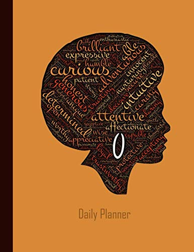 Daily Planner: 2019 - 2020 Planner | Black Female African American Afro Lady | January 19 - December 19 | Writing Notebook | Datebook Calendar Schedule | Plan Days, Set Goals & Get Stuff Done by Independently published