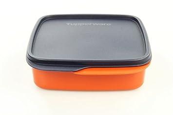 TUPPERWARE Caja de Sandwich Snack 550 ml azul oscuro ...