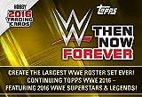 2016 TOPPS WWE Wrestling Then, Now, & Forever