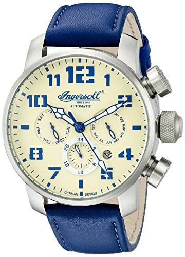 Ingersoll Men's IN1224SCR Colby Analog Display Automatic Self Wind Blue Watch