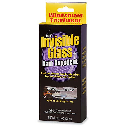 Invisible Glass Premium Glass Cleaner with Rain Repellent Wi