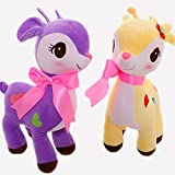 Babique Deer Soft Toy Animal for Kids Birthday Gift (Assorted Color)(25 cm ,1Pc)