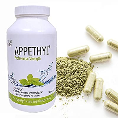 Appethyl Spinach Extract Capsules - Healthy Energy, Reduced Cravings - Pure Spinach Extract, No Fillers