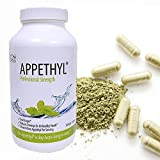 Appethyl Energy Capsules, Pure Spinach Extract - Reduced Cravings, Healthy Dose of Green - 360 Count