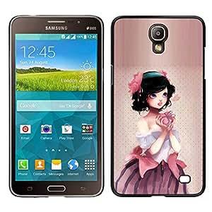Caucho caso de Shell duro de la cubierta de accesorios de protección BY RAYDREAMMM - Samsung Galaxy Mega 2 - Manzana linda princesa
