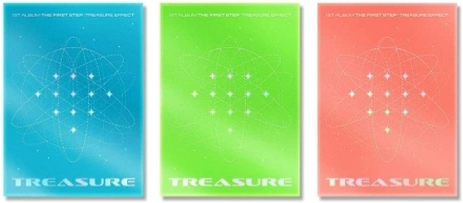 3Folded Poster 1st Album The First Step Effect 3version Album TREASURE