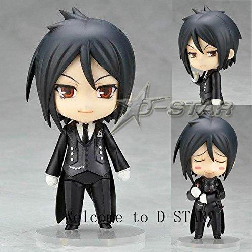 """Angle Idea 4"""" Nendoroid Black Butler Sebastian Michaelis Boxed Pvc Action Figure Collection Model 68"""