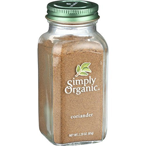 Simply Organic Ground Coriander Seed, 2.29 Ounce - 6 per case