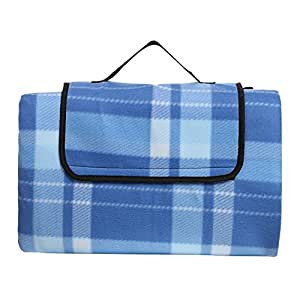 "LEADSTAR plegable exterior franela manta de picnic playa manta Mat lp-5 impermeable con Carry handle- (78,7 ""x78.7"