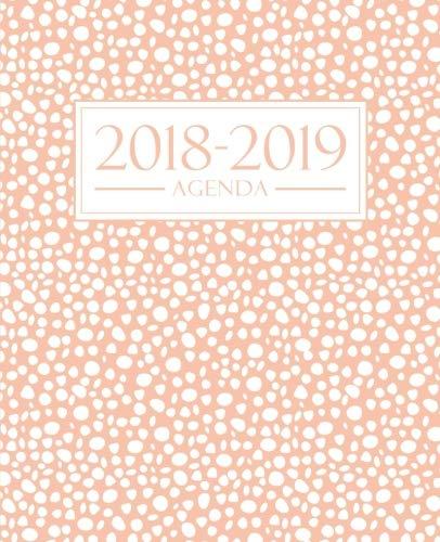 Agenda 2018-2019: 1 settembre 2018 al 31 agosto 2019: 19x23cm: Agenda 2018-2019 settimanale italiano: Avorio su Rosa (Italian Edition)