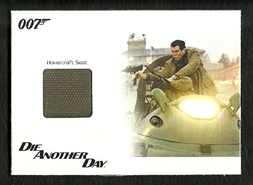 James Bond Archives Relic # JBR37 Hovercraft Seat from Die Another Day #53/500