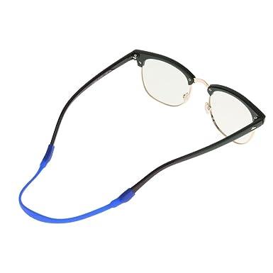 Gazechimp Gafas Cable Correa Cadena Cuerda de Elástica Silicona Deslizamiento para Lentes Anteojos, Muchos Colores para Elegir