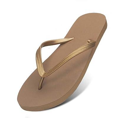 Feisco Women Rubber Flip Flops Thong Sandal Beach Slipper | Flip-Flops