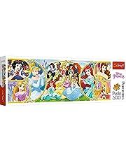 Trefl Disney Princesses Shaped Panorama Puzzle - 500 Pieces