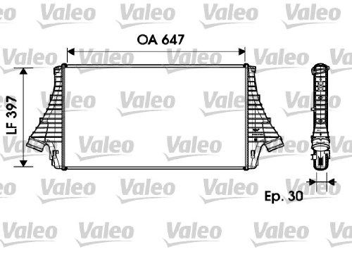 VALEO SERVICE 817729 Intercooler