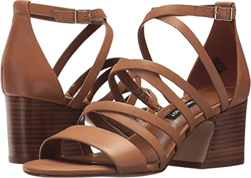 Nine West Women's Youlo Dark Natural Leather 10 M US - West Brown Leather