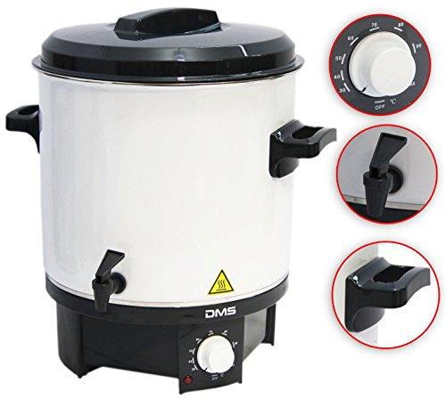 Einkochautomat Einkochtopf Glühweintopf Heißgetränkeautomat Einkocher 27L DMS®