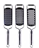 Culina Professional Stainless Steel Hand-held Graters - Set of 3