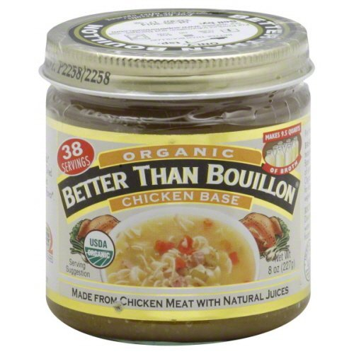 Superior Touch Better Than Bouillon Organic Chicken Base Broth 8 oz - Pack of 6