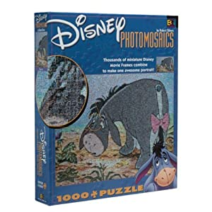 Disney Photomosaic Eeyore Jigsaw Puzzle 1026pc By Buffalo Games By Buffalo Games
