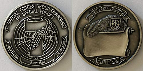 7th Special Forces Challenge Coin