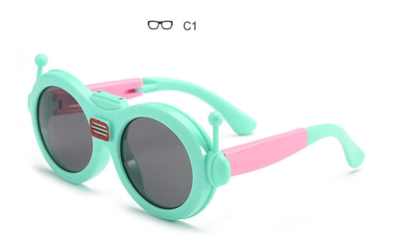 Wang-RX Gafas de sol de dibujos animados para niños con ...