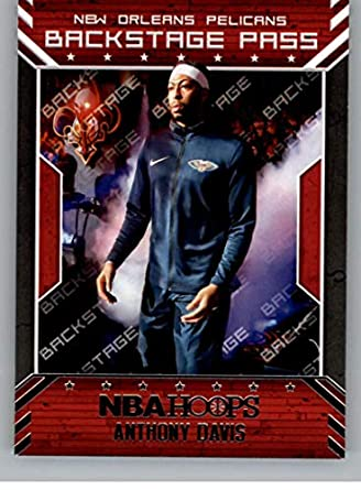 Amazon com: 2018-19 Panini Hoops Back Stage Pass #7 Anthony