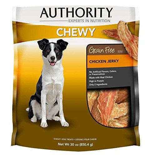 *Authority Chewy Dog Treat - Grain Free, Chicken Jerky - 30 Oz Chicken Jerky - 2 Pack