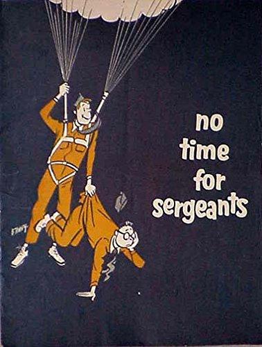 No Time For Sergeants 1955 Vintage Souvenir Program