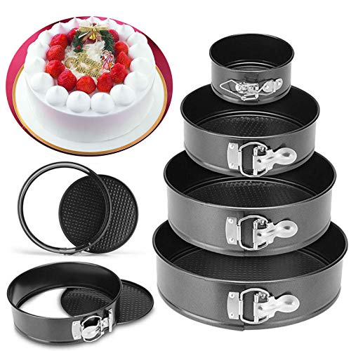 Baking Pans Kitchen Cake Tool Cake Mold Metal Round Baking Dish Bakeware Non-stick Mold Kitchen Accessories Gadget drop shipping