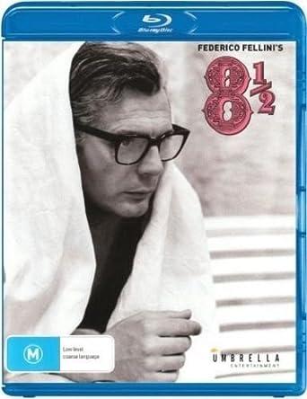 8 1/2 Otto e mezzo Federico Fellini Blu Ray REGION B: Amazon.co.uk ...
