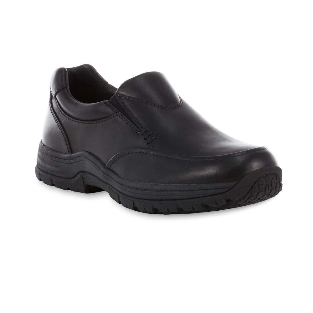 DH DieHard Men's Slip Resistant Work Shoe - Black Size 10.5M