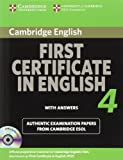 Cambridge First Certificate, Cambridge ESOL Staff, 0521156971
