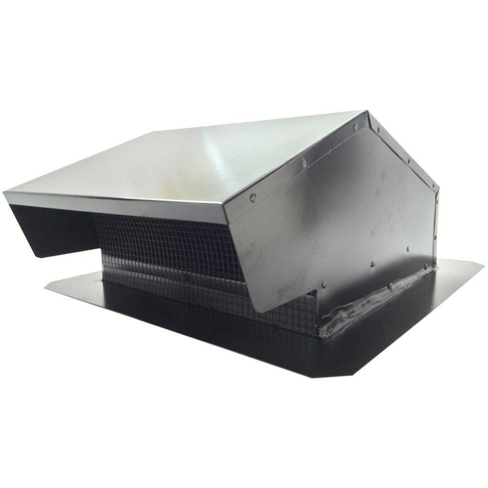 "BUILDERS BEST 12634 Roof Cap Flush, 6-8\"", Black"