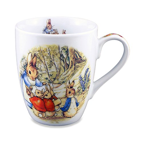 Reutter Porcelain Beatrix Potter Coffee Mug 10 oz. ()