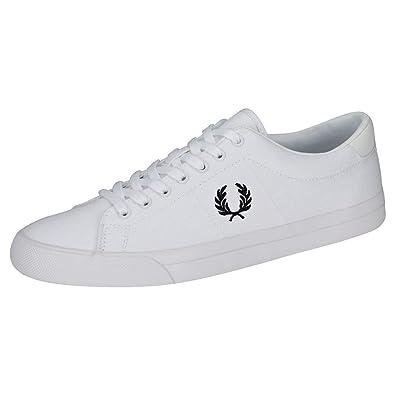 Perry Fred Sneakers Weißschwarz Underspin Herren Twill Uk 11 f7b6gy