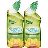 Green Works Toilet Bowl Cleaner, Toilet Gel Cleaner - 24 Ounces (Pack of 4)