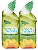 Green Works Toilet Bowl Cleaner, Toilet Gel Cleaner - 96 Ounces (PACK of 4)