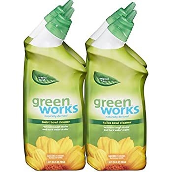 Amazon.com: Green Works Toilet Bowl Cleaner, 24 Ounce (Pack of 4 ...