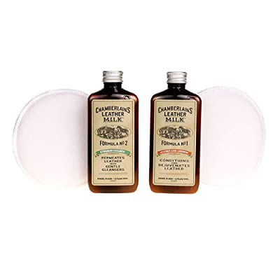 Chamberlain's Leather Milk Conditioner and Cleaner Kit
