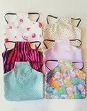 Handmade Set of 10 Chicken Small Standard Saddle Aprons Cotton Grab Bag Prints Vary FREE Holiday theme
